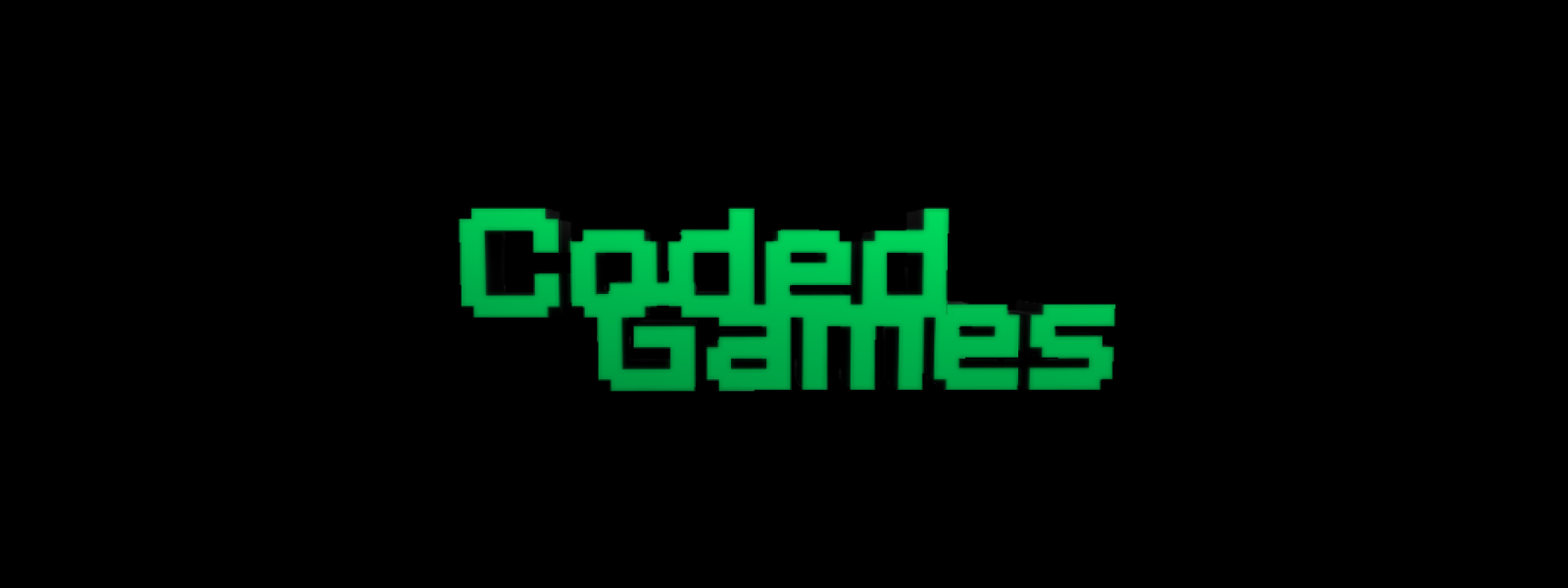 Coded Games Logo Banner